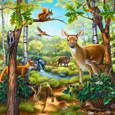 animals the forest - Hľadať Googlom