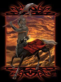 Centaur Warrior by Carrie Best