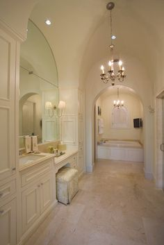 Installing a sconce directly to a mirror is a great way to customize your bathroom.