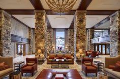 St Regis Deer Crest lobby