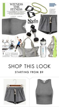 """""""Witness the fitness"""" by ornellav ❤ liked on Polyvore featuring Sheinside and shein"""