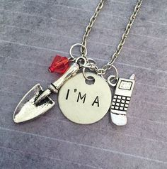 Pretty Little Liars I'm A Necklace Pretty by LulusStampings