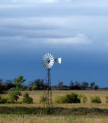 Kansas Prairie.  Still trying to talk the hubby into putting a windmill up…