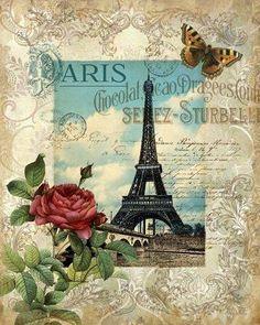 Vintage Pic- Paris