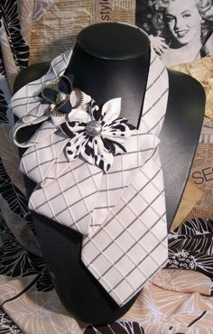 Мужские галстуки превращаются..... Идеи