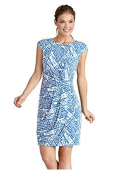Donna Morgan Printed Faux Wrap Dress  I know Stitch Fix has this--cute!