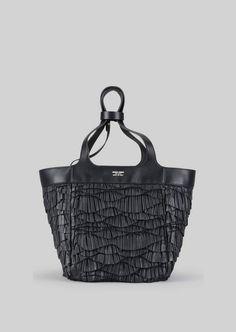 7fbdae16e4 Giorgio Armani Tote Bag In Napa Leather Borsette Vintage, Giorgio Armani,  Borsa Larga Di