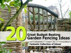 20 Great Budget Beating Garden Fencing Ideas