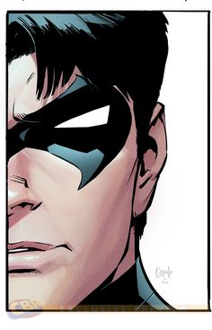 Greg Caupllo's Death of the Family Die-cut Covers - Nightwing