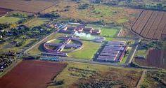 Zonderwater maximum security prison near Cullinan. Andre Stander was sent there after his conviction for armed robbery. It was here that he met Patrick Lee MCCall and Allan Heyl. Both men were bank robbers, and McCall was also an expert car thief. New Africa, South Africa, Ascension Island, Bank Robber, St Helena, Canary Islands, Aerial View, History, Feb 13
