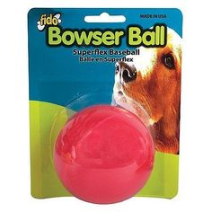 Fido Bowser Dog Ball Vanilla Flavored Baseball  3 ** You can get additional details at the image link.