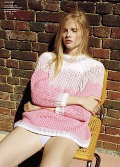 Lara Stone by Alasdair McLellan for V Magazine.