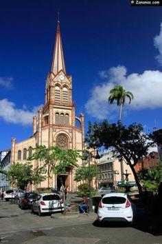 La cathédrale Saint-Louis. Fort-de-France - Martinique
