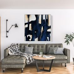 Abstract Canvas Art - Large Painting on Canvas, Contemporary Wall Art, Original Oversize Painting Office Wall Decor, Home Decor Wall Art, Large Abstract Wall Art, Large Painting, Above Bed Decor, Mid Century Wall Art, Contemporary Wall Art, Extra Large Wall Art, Large Canvas