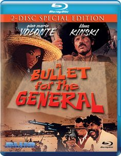 A BULLET FOR THE GENERAL BLUE UNDERGROUND BLU-RAY