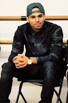 "Chris Brown. I remember his first hit song "" Lemme see if you can run it run it"" lol hmm not nearly the same boy."