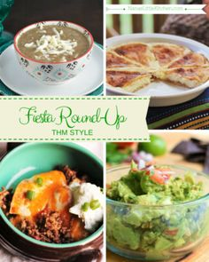 Fiesta Roundup THM Style So many yummy, THM friendly Mexican food recipes listed in this one post because Trim Healthy Mama is not your average diet and this is not your average diet food!