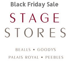 9cf9bbac114d2 In Black Friday Sale Stage Store will provide a good discount offer on many  of its