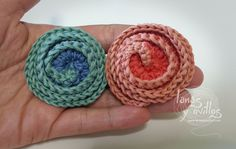 Tutorial Flor Crochet Deco Rose