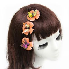 Find More Hair Accessories Information about 15pcs/lot Hair Flower Clips Butterfly Hair Flowers Clips Woman Girls Hair Clips Hair Accessories Headwear,High Quality accessories curtain,China accessories cotton Suppliers, Cheap accessories for baby girls from Hair's Art Online Wholesale Store on Aliexpress.com