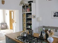 DIY: Dramatic Kitchen Shelves on a Dime - Remodelista
