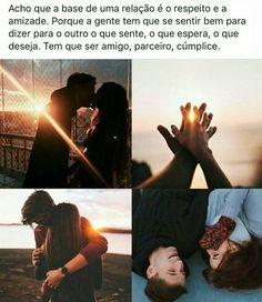 É a pessoa que eu quero pro resto da vida @G❤ Couples Quotes Love, Couple Quotes, Cute Couples, Love Quotes, L Love You, My Love, Stupid Love, Unrequited Love, Love Is Patient