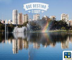 Que destino é esse? Este é o único parque brasileiro listado pelo jornal britânico The Guardian entre os 10 melhores do mundo. Fácil demais, e aí viajantes, quem vai acertar? Acertou que respondeu Parque do Iberapuera, São Paulo. Conheça esse belo parque com a Clube Turismo! Consulte mais informações: lalasponchiado.home@clubeturismo.com.br #AmoViajar #CurtaoBrasil #AproveiteSuasFerias #OndeEuQueriaEstarAgora #QueDestinoeEsse #VenhaConhecer