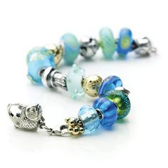 Trollbeads - Tropical ~ add more of these for her bracelet to go with the ocean themed silver beads. Trollbeads Armband, Jewelry Accessories, Jewelry Design, Silver Jewelry, Pandora Jewelry, Silver Beads, Charm Jewelry, At Least, Jewelry Making
