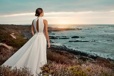 """Brautkleid Bilbao aus der Marylise Brautmoden Kollektion 2015 :: bridal dress from the 2015 Marylise collection """"Les nouvelles femmes"""" by Misolas"""