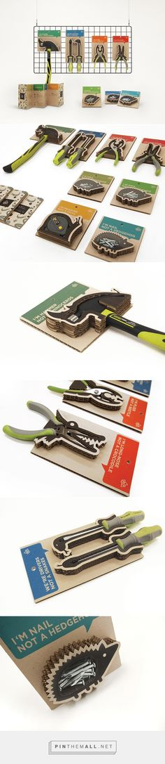TADA TOOL PACKAGING on Behance - created via http://pinthemall.net