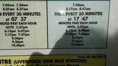 82a bus times for Sundays