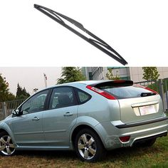[Visit to Buy] For Ford Focus 2 Hatchback 2005 2006 2007 2008 2009 2010 14'' Car Soft Rubber Rear Rain Window WindShield Wiper Blade Decoration #Advertisement