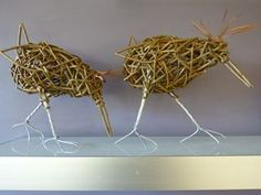 Birds on a shelf