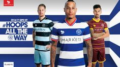 Dryworld QPR 16-17 Home, Away & Third Kits Released - Footy Headlines