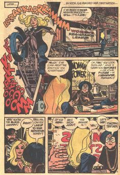 Another gorgeous Toth Black Canary page.
