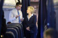 St. Louis, MISSOURI-- Hillary Clinton's press secretary Brian Fallon refused …