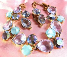 Blue Vintage Jewelry