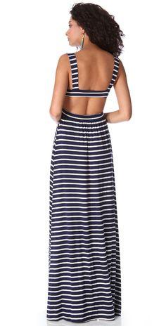 Rachel Pally Stripe Cutout Dress | SHOPBOP