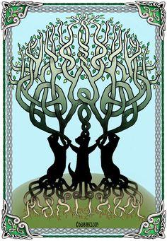 Celtic ferret Tree of Life