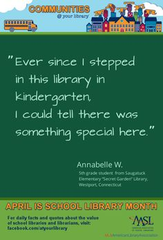 Library Inspiration, Library Ideas, Teaching Schools, Elementary Schools, Teacher Librarian, School Libraries, Daily Facts, Ya Books, 5th Grades