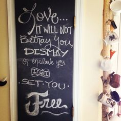 Chalkboard Painted Pantry Door, Rustic Coffee Mug Hanger Made From A Fallen  Birch Branch,