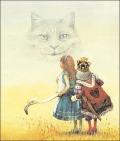 alice adventures in wonderland illustrated by robert ingpen
