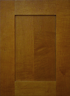 Delafield Flat Panel Door  Available Material: Alder, Maple and Paint Grade Color Shown: Nutmeg Stain on Maple Material Available in All Outside Profiles - Shown with Square Outside Profile Alder Cabinets, Face Framing, Custom Cabinetry, Panel Doors, Cabinet Doors, Color Show, Traditional, Frame, Profile
