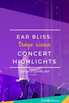 Troye Sivan performed at Webster Hall in NYC for 2 sold out shows of the Blue Neighbourhood tour! Get concert highlights and insights from his show!