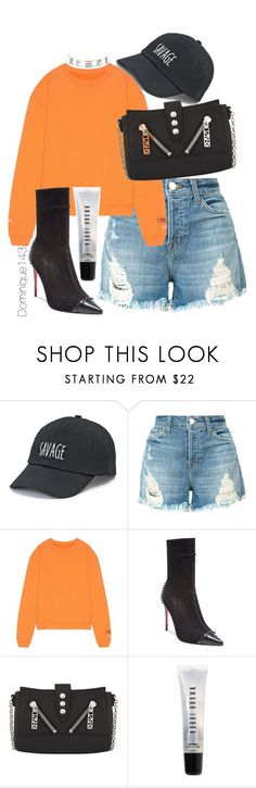 """Untitled #101"" by dominique143 ❤ liked on Polyvore featuring SO, J Brand, Heron Preston, Christian Louboutin, Kenzo, Bobbi Brown Cosmetics and Charlotte Russe"