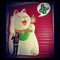 lucky cat✊ BK NYC | A CHAO DESIGN travels #mimpilivelove