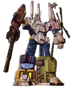 """Bruticus, the combined-form of the Combaticons, from """"Transformers"""""""