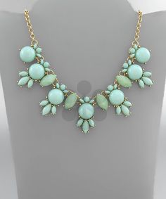 Dome and Marquise Necklace