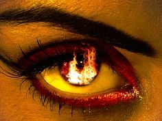 Gives me inspiration for Mieshka Renaud's story in The Elemental Wars--soon to be re-released! Original Caption: Oh, so perfect as my fire elementals are vampires as this eye reflects ~; Pretty Eyes, Cool Eyes, Beautiful Eyes, Deep Books, Fire Eyes, Eyes Watering, Aesthetic Eyes, Eye Art, Eye Color