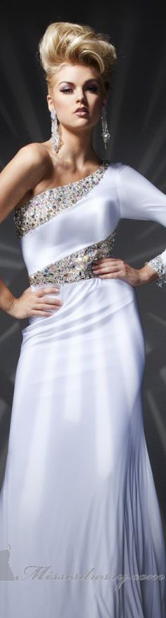 Tony Bowls Collections Formal dress #long #elegant #dress #oneshoulder